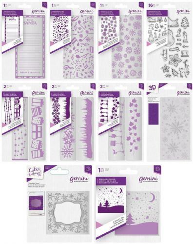 Gemini - Embossing Folders or Stamps by Crafter's Companion